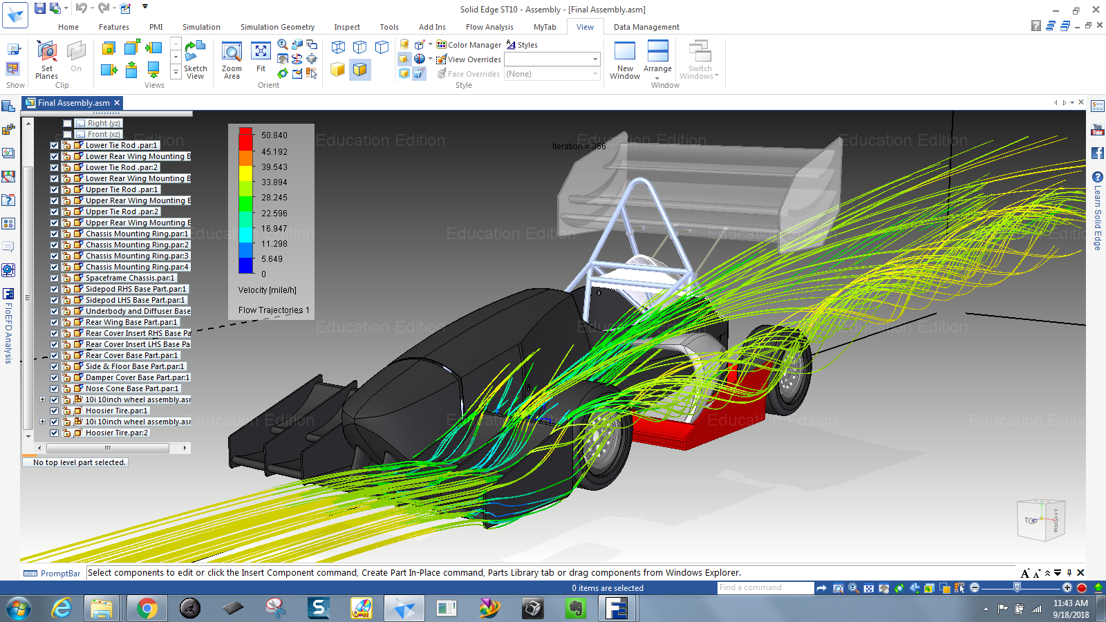 FSAE Online Training Videos - Your goal is to design and build a competitive race car, not spend majority of your time learning the software tools. Check out our application specific workflows for CAD, CFD, and FEA that accelerate your learning curve.Roll-out to begin Fall 2019.