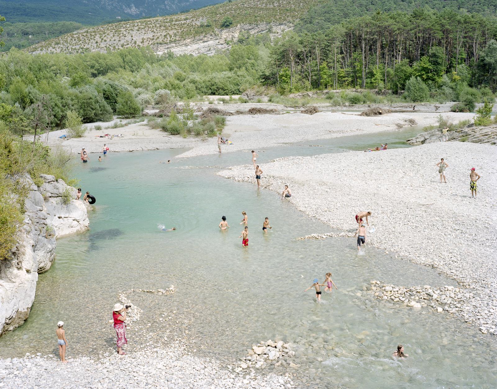 Ardèche river, France