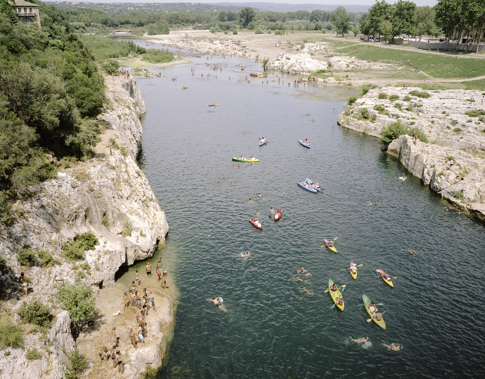 Gard river, France