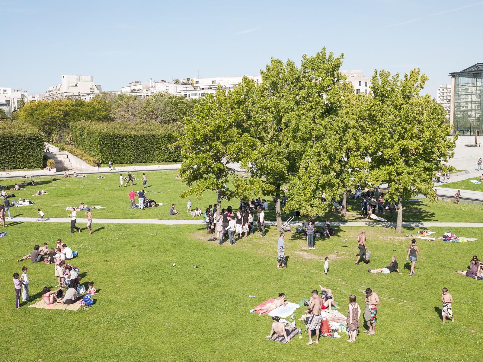 Parc André-Citroën, Paris, France
