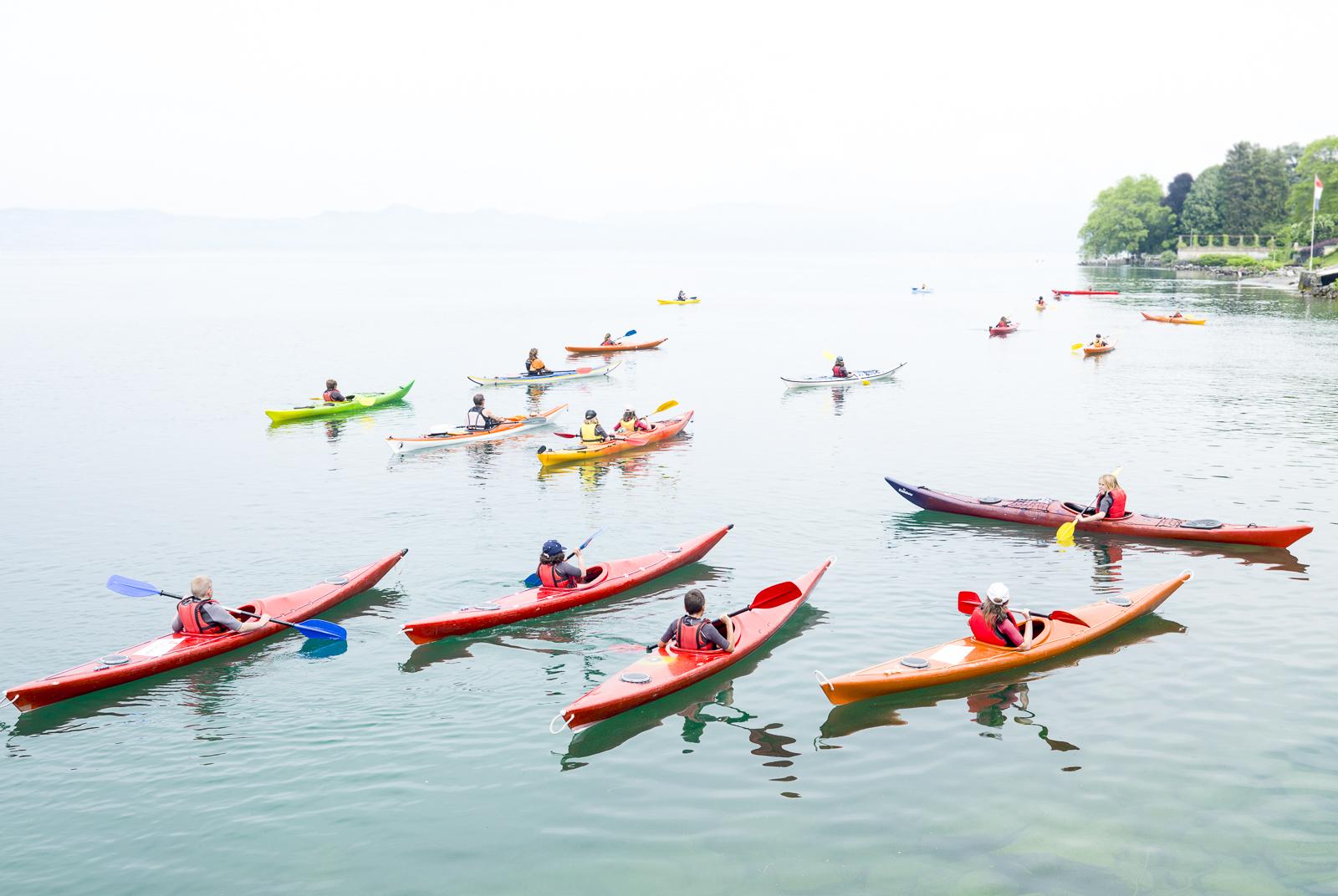 Leman Lake, Evian, France