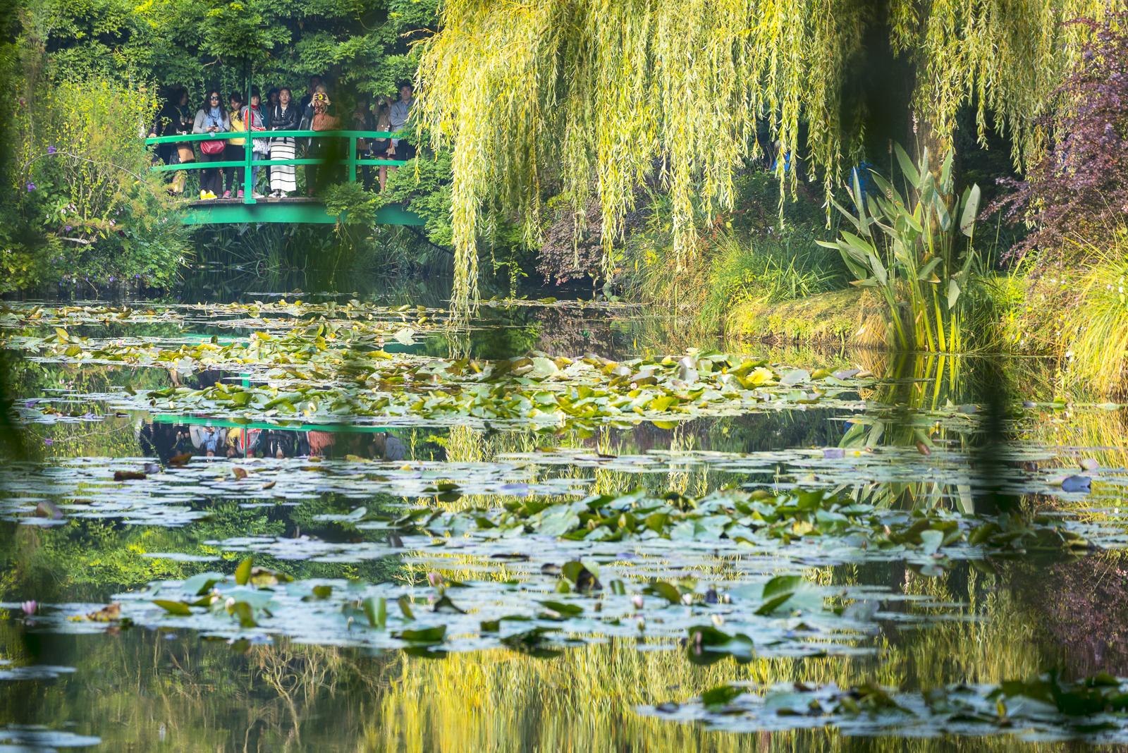 Monet's footbridge, Giverny