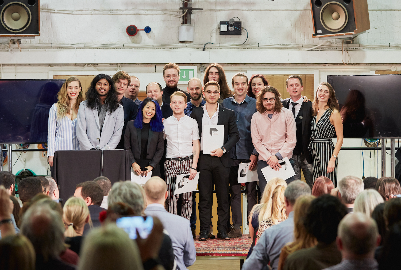 In Studio 2, Abbey Road Studios in London, graduation ceremony