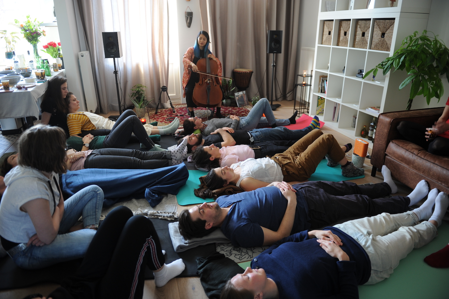 Relax with Live Cello Meditation - an exclusive event by Airbnb