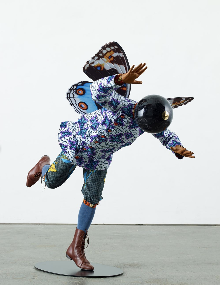 Artwork: Yinka Shonibare, 'Butterfly Kid (boy) IV', 2019