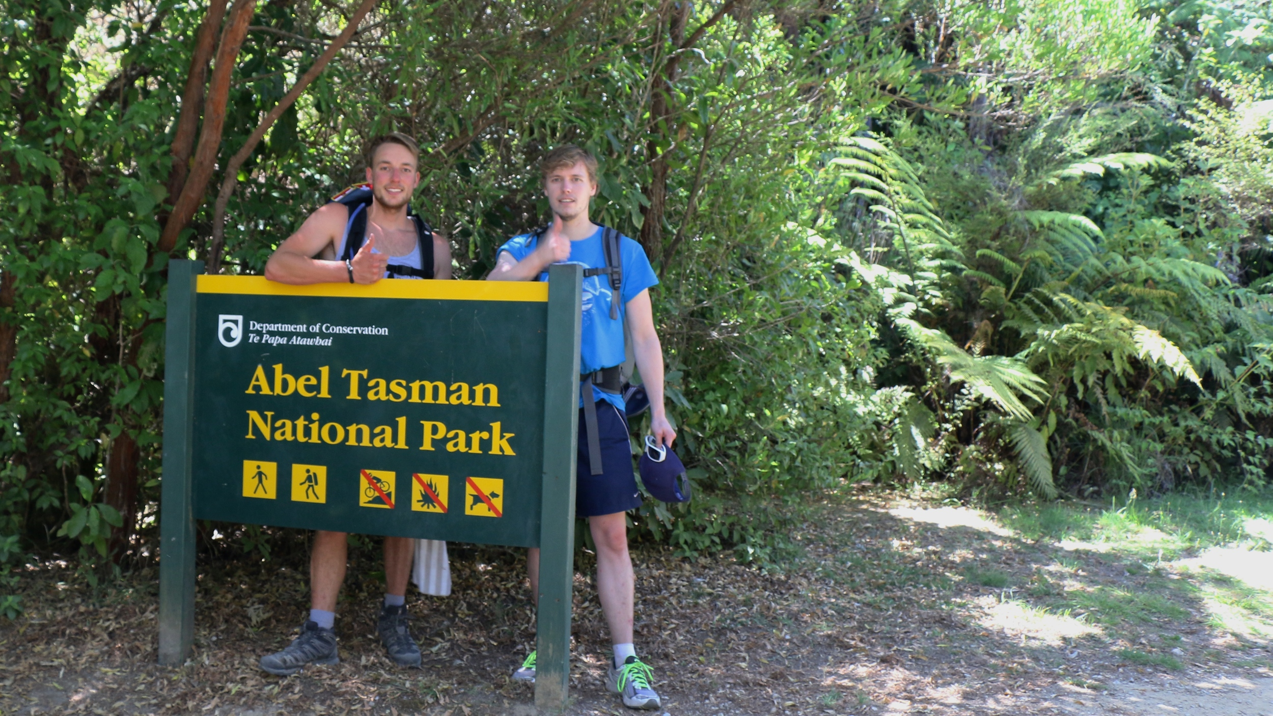 Abel Tasman - we did it!