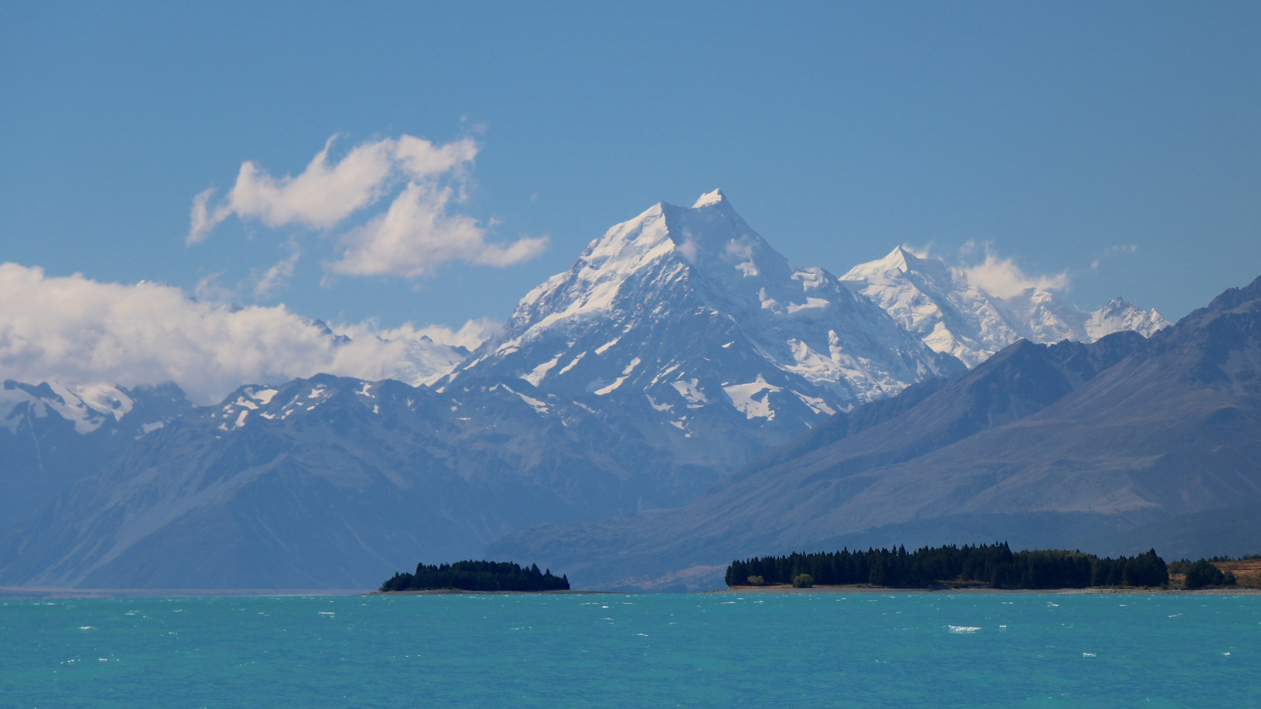 Lake Pukaki & Mout Cook