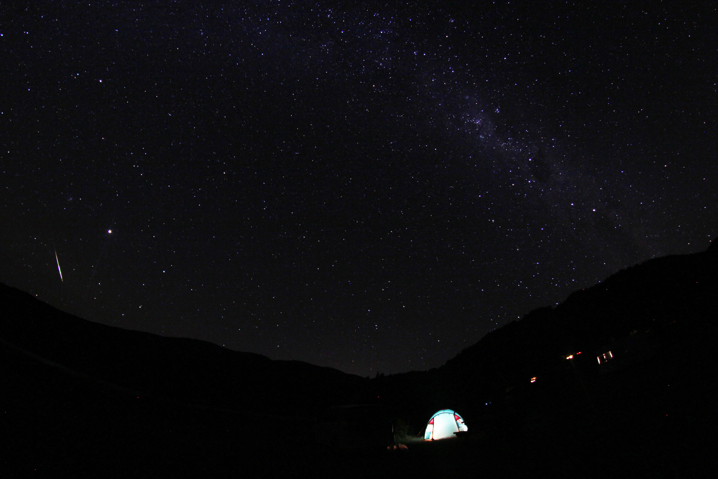 starry sky over Marlborough