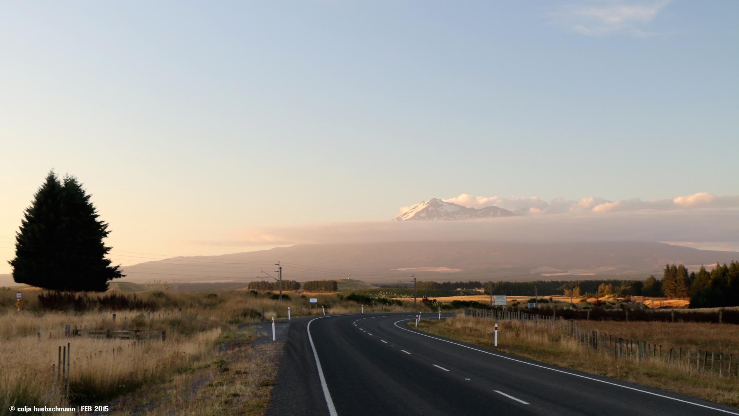 Tongariro National Park (Mt Ruhapeu)