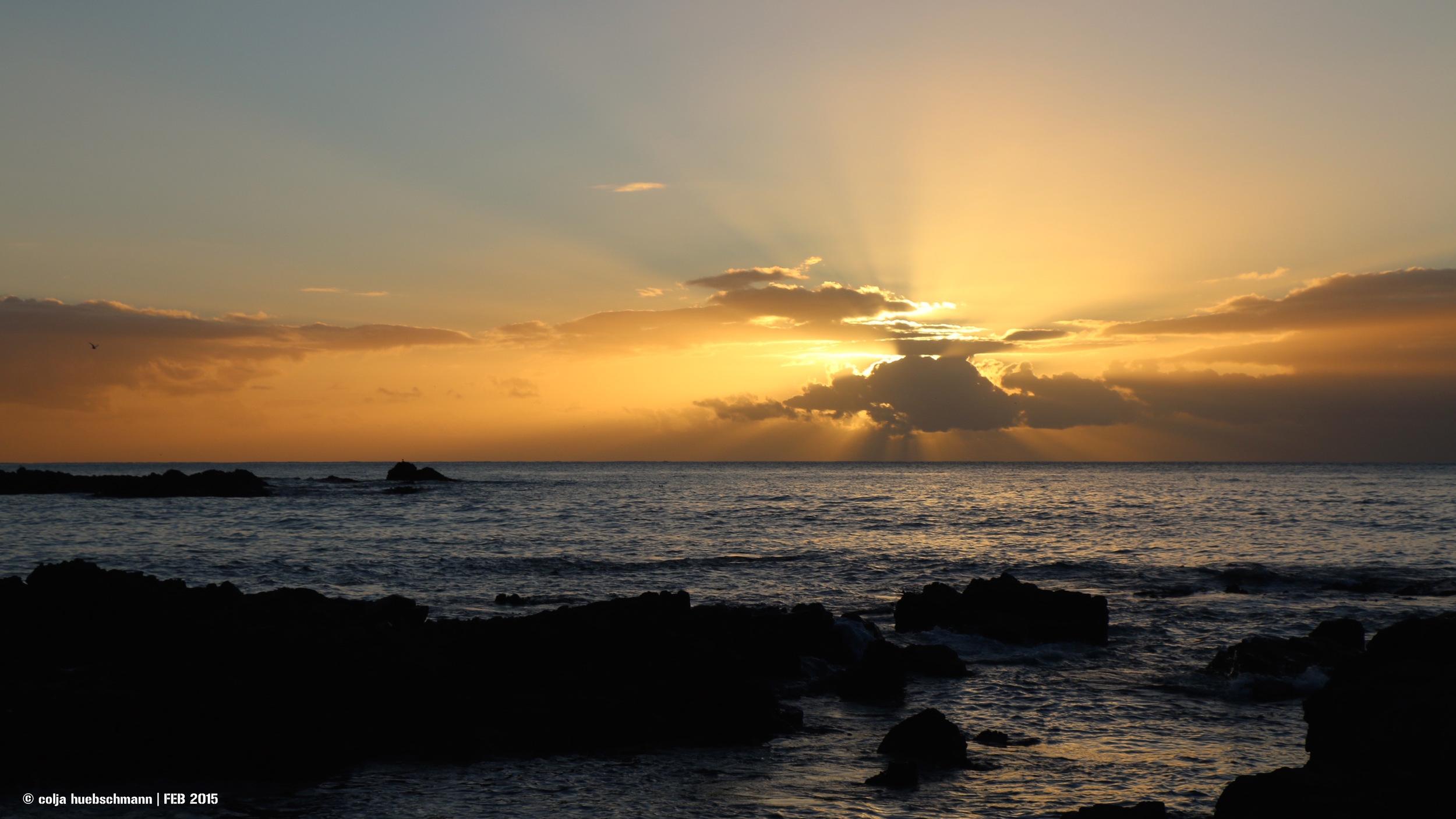 Sunrise Kaikoura