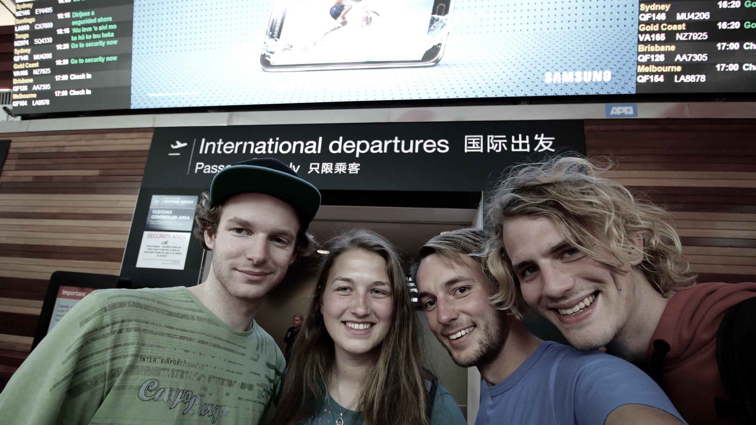 Crishi, Verena, Me and Thorben