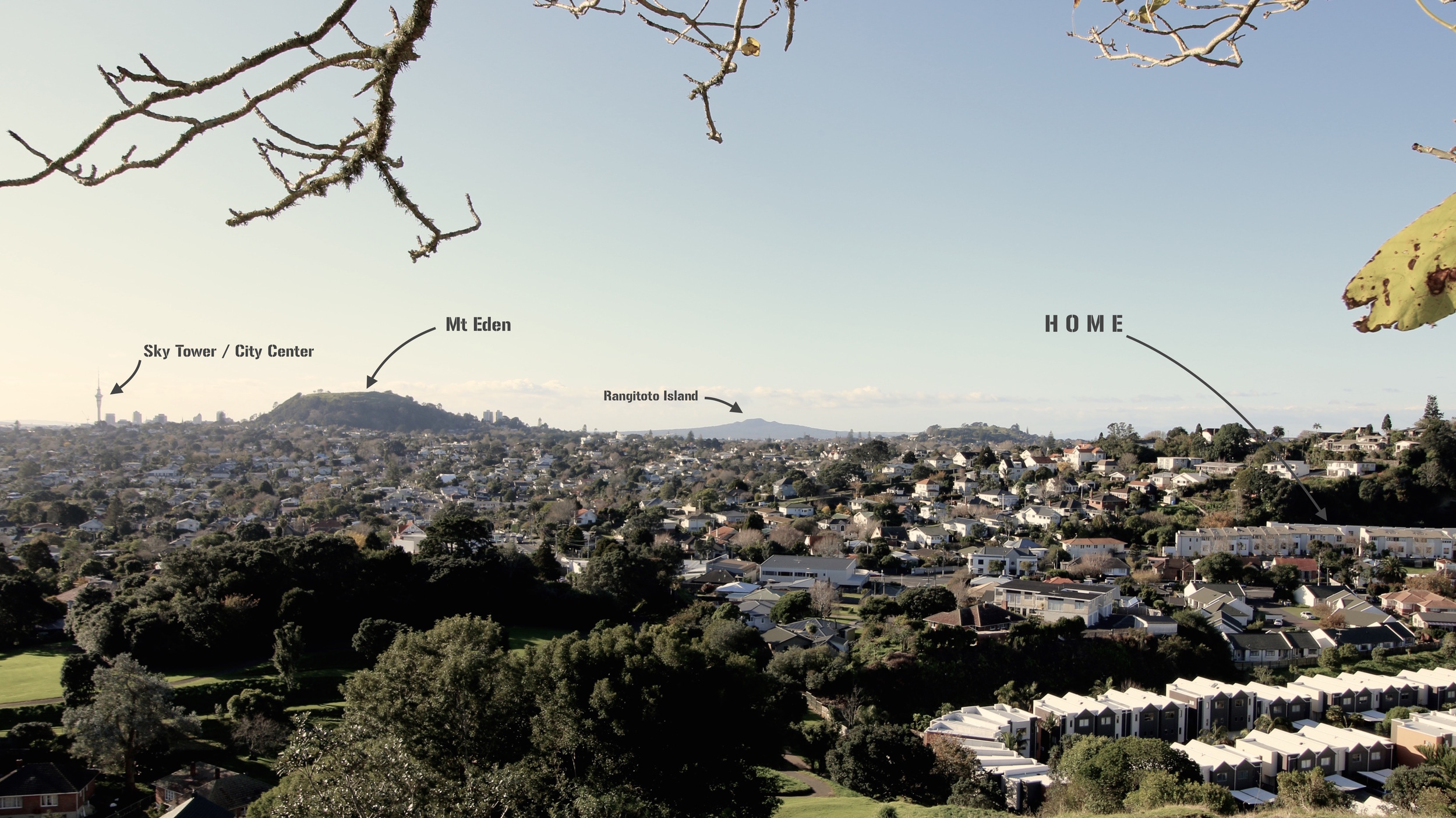"View vom ""big king"" hill"