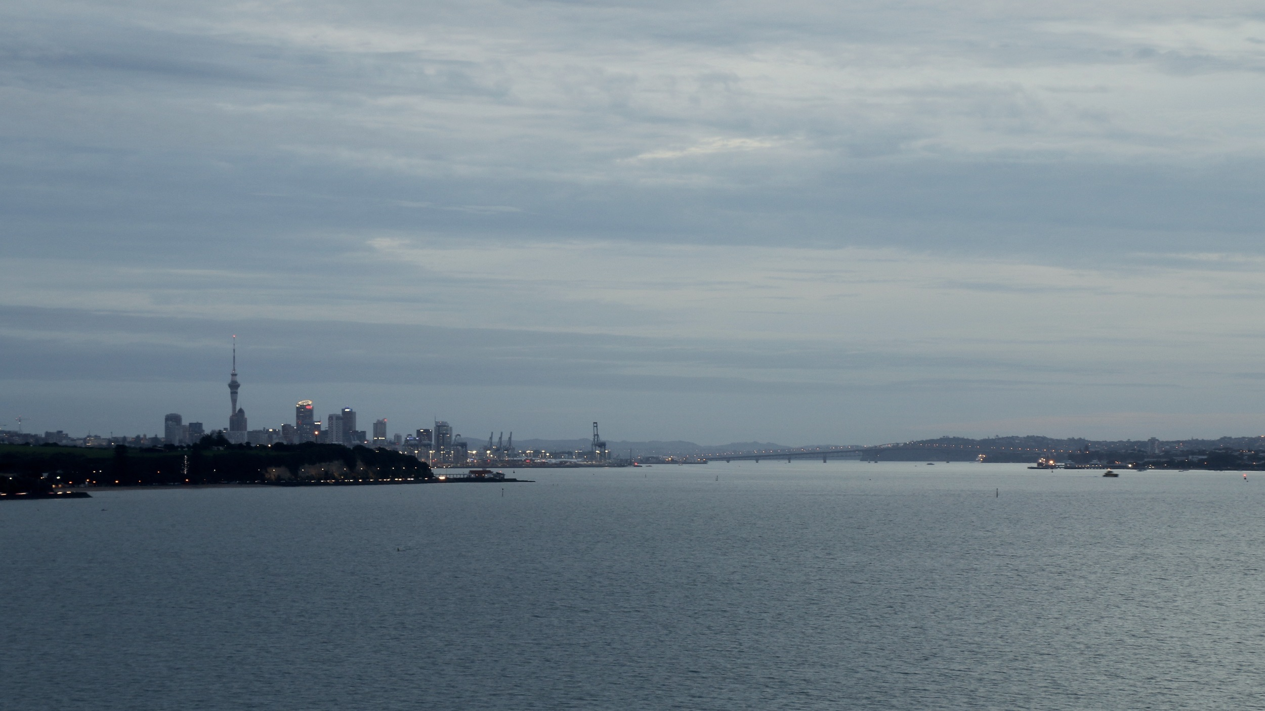 Auckland Skylne, view from st heliers