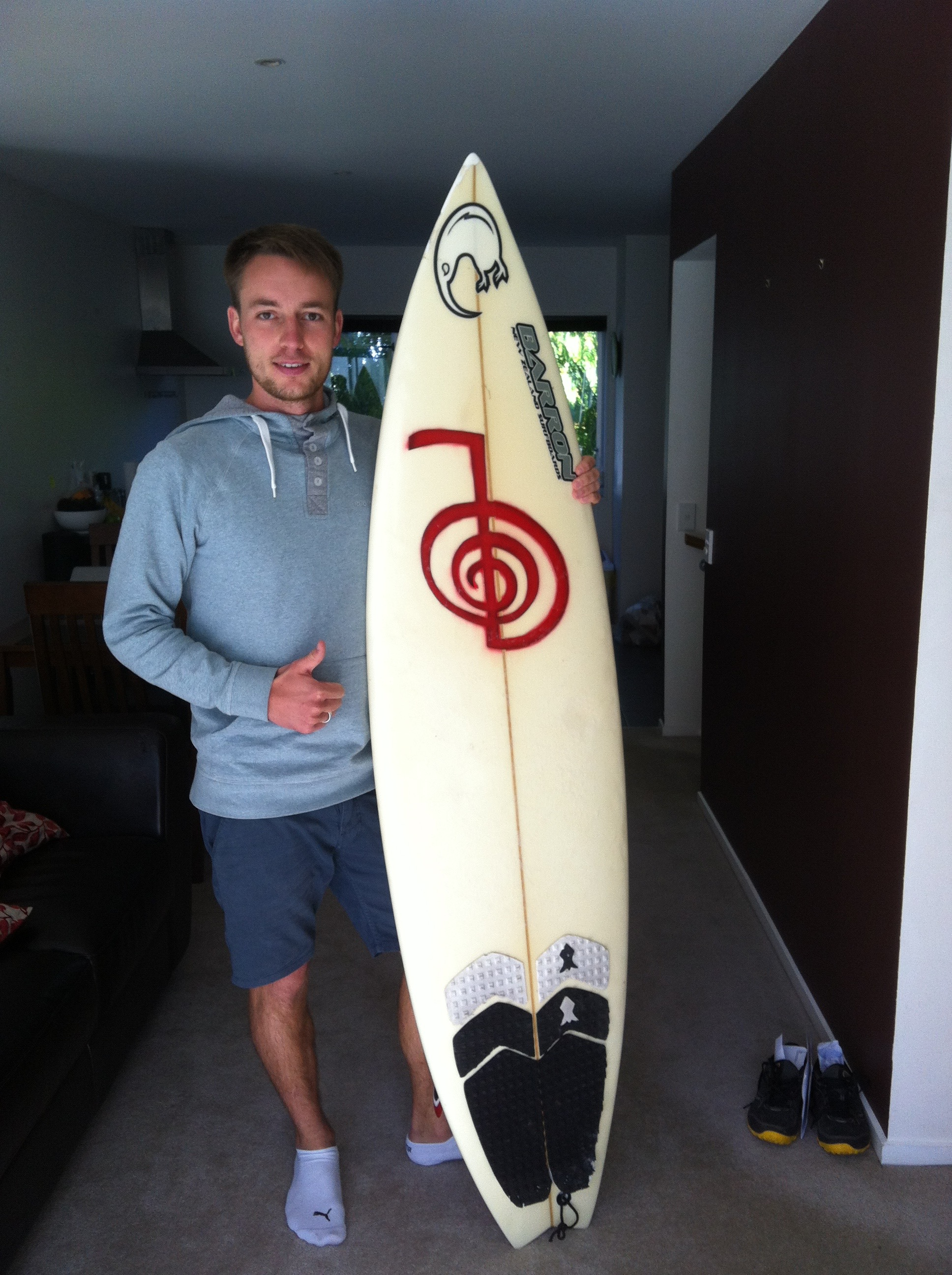 My First and own surf board =)