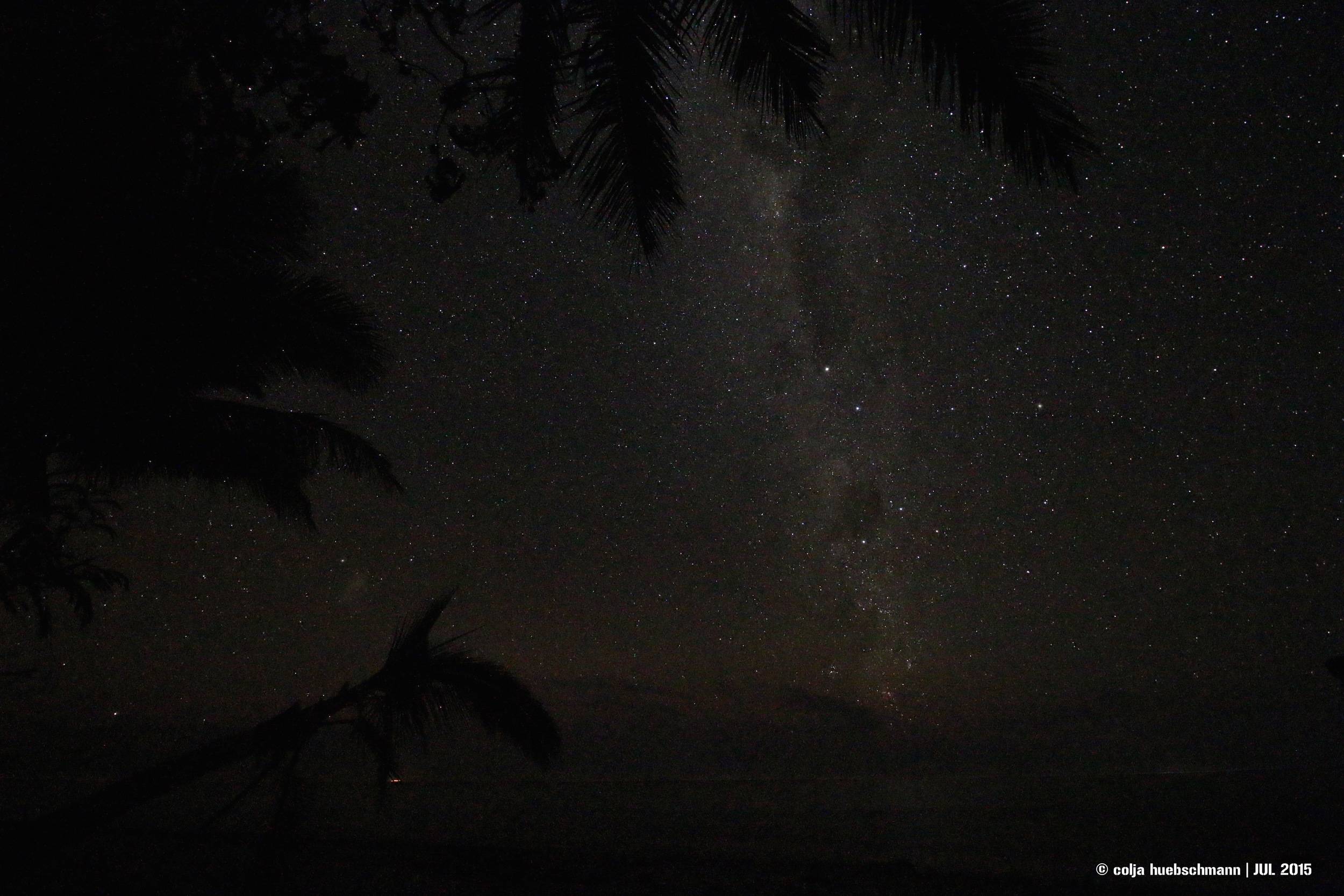milky way, coral coast, fiji