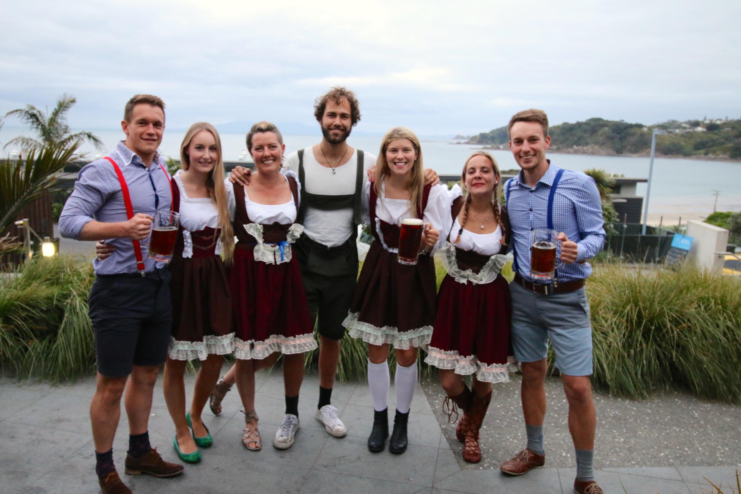 Oktoberfest at the Cove, Waiheke Island