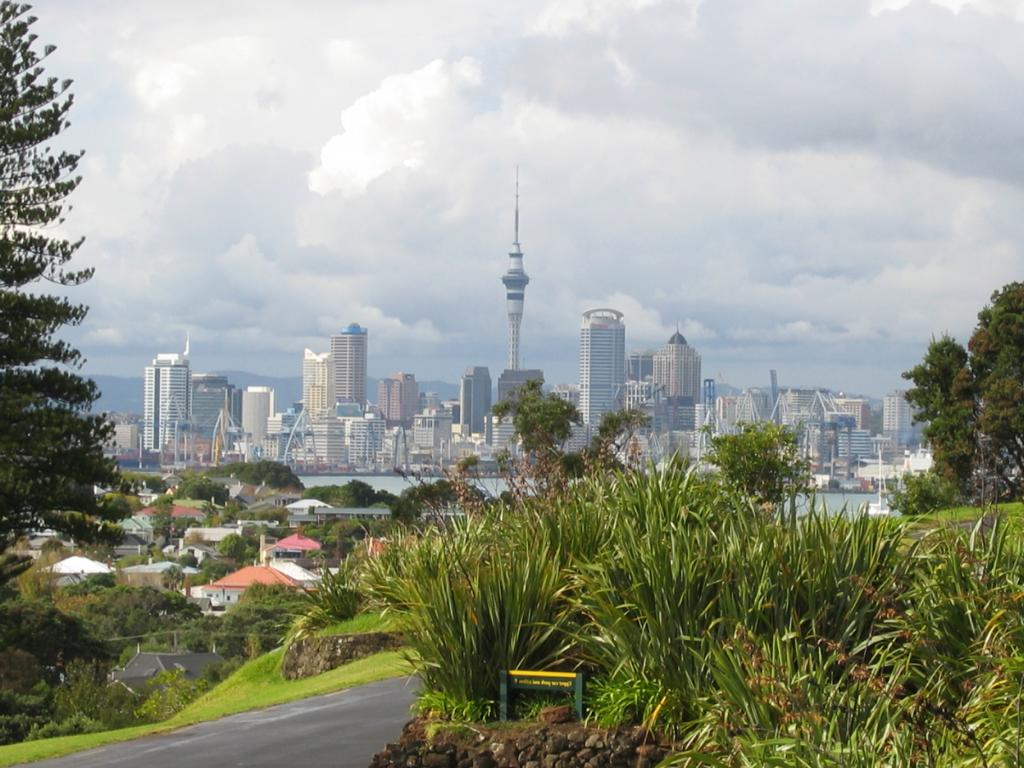 Auckland City from DAVENPORT