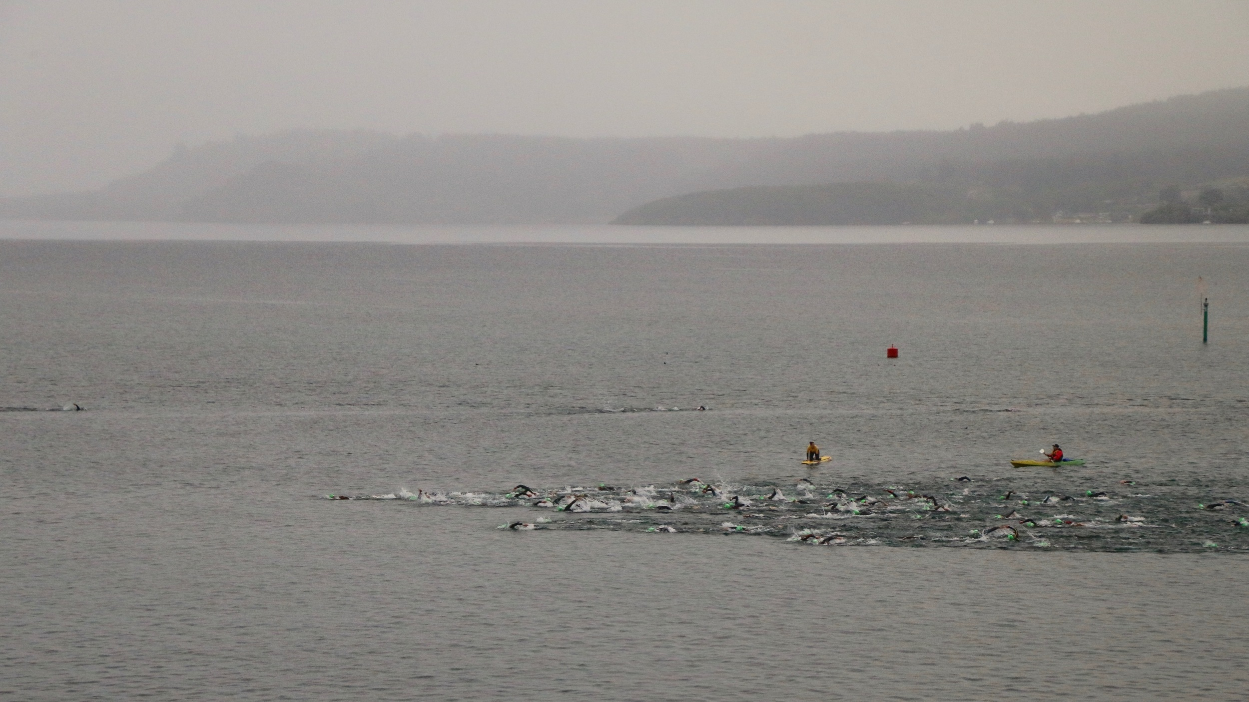 swim start Lake Taupo