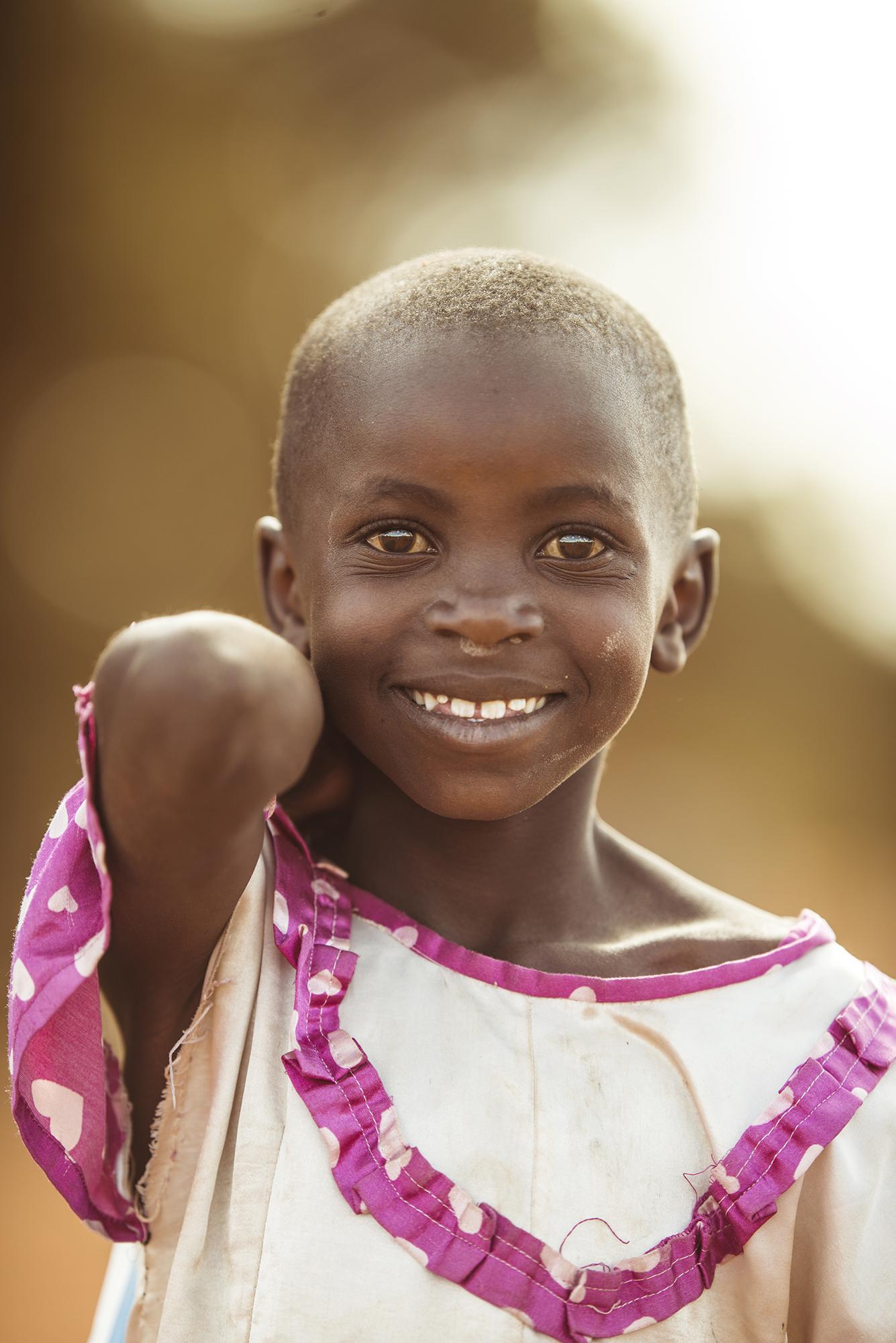 All smiles, Kenya.