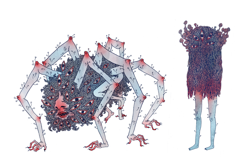 emotionally volatile creatures you may or may not encounter while exploring a dark cave