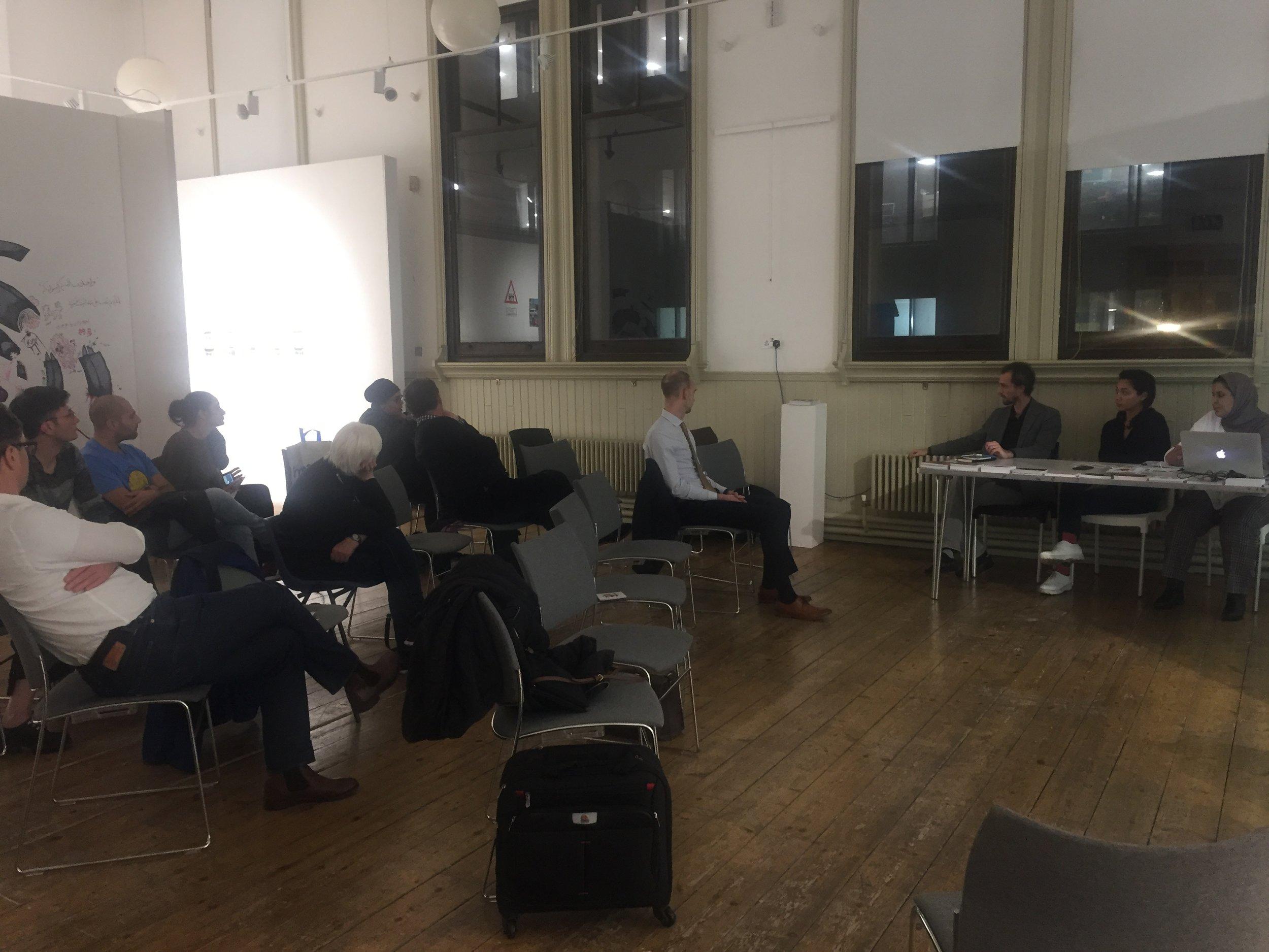 Panel Discussion with Amal Khalaf (UK),Quentin de Pimodan (France) and Khulod Albugami (Saudi Arabia)