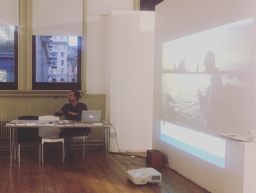 """Quentin de Pimodan speaking about """"The Khaleeji Voice"""" project and the urban art scene in the Gulf"""