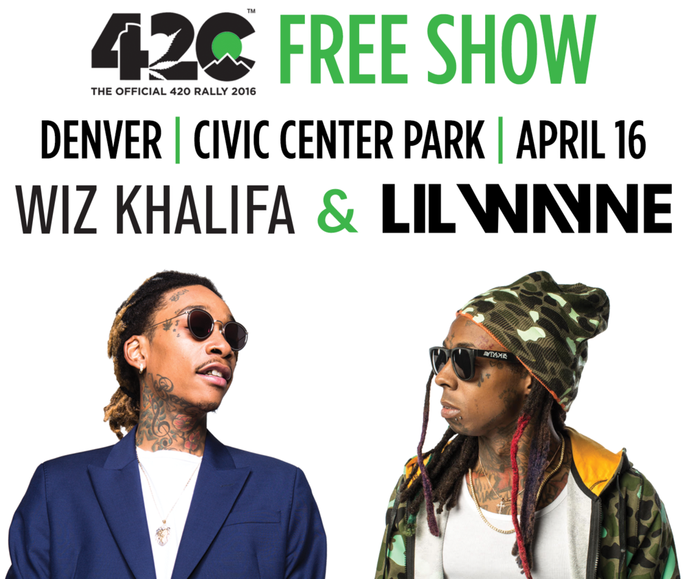 Let your friends know you're going with #420rally.