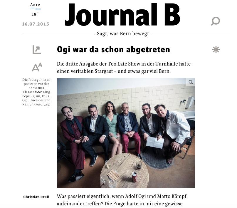 Journal B / 16.07.2015