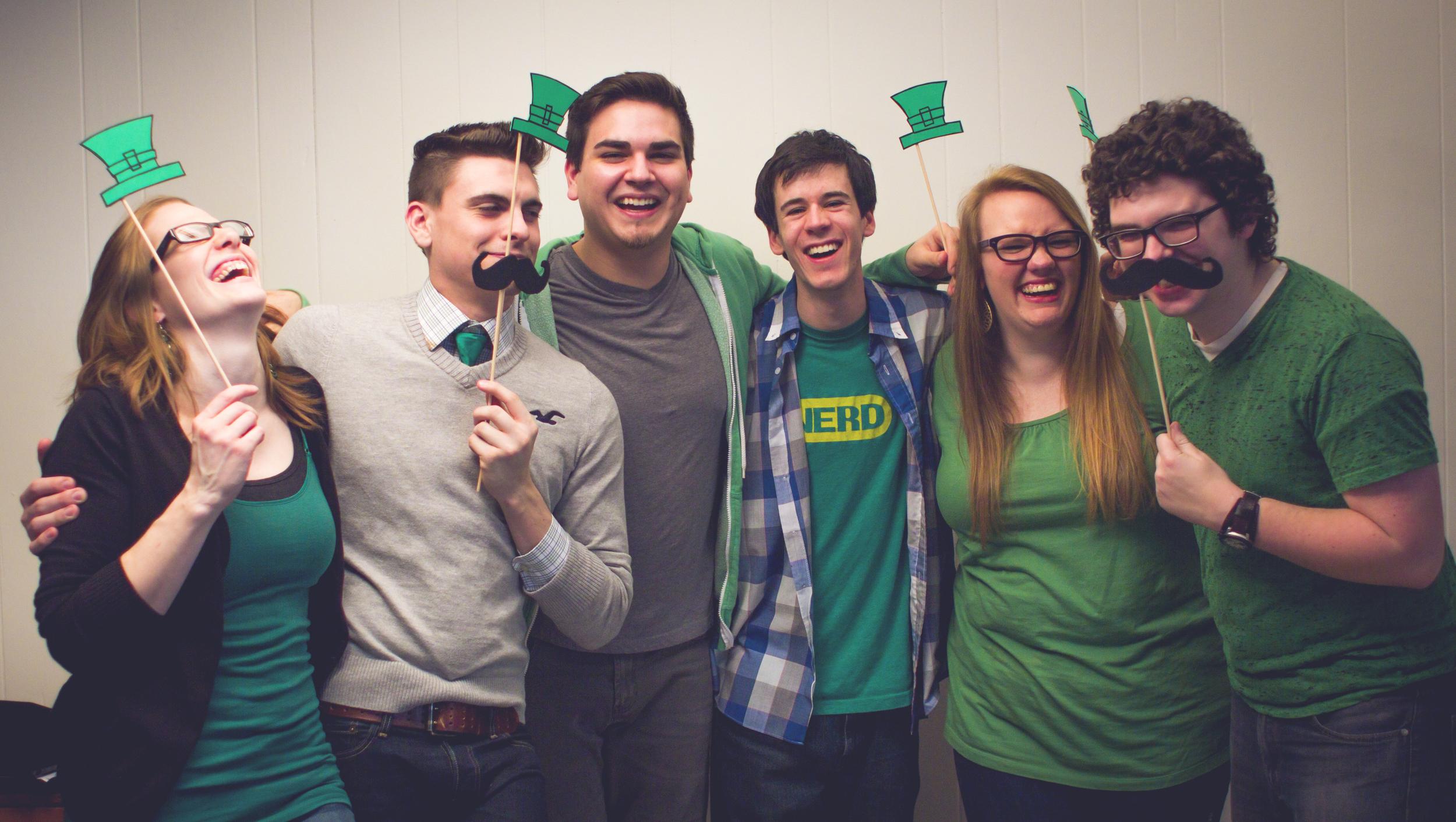 St. Patricks Day - we LOVE green