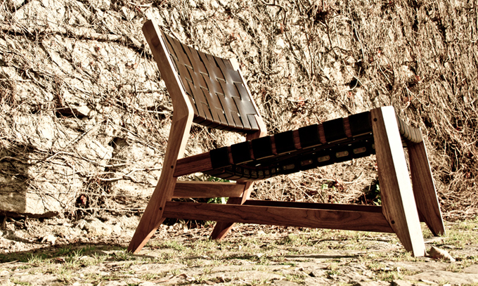 ODHIN  Lounge chair is a perfect choice to Summer. This stylish chair can be placed indoor or outdoor, in a living room, family room, deck or a patio.
