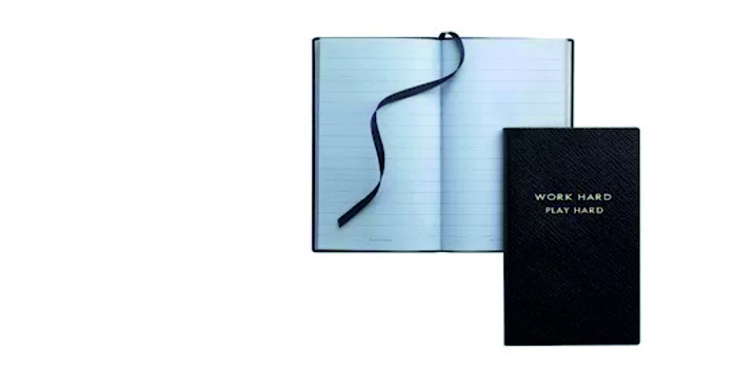 3. PANAMA TEXTURED-LEATHER NOTEBOOK BY SMYTHSON