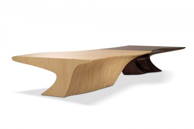 Wood, lacquered