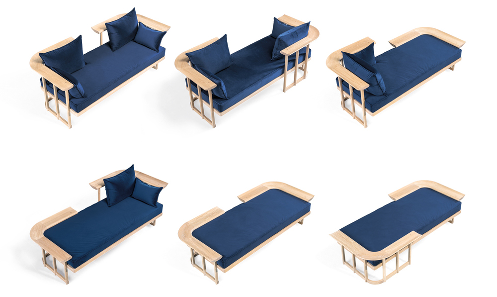 Lover seat  by Gonçalo Campos for  WEWOOD