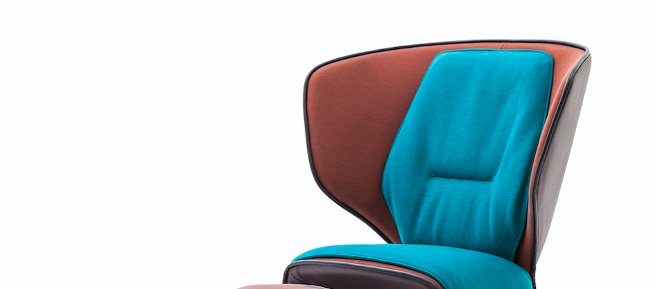 The Gender  armchair by Patricia Urquiola for  CASSINA