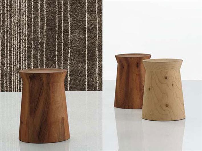 DAMA  TABLE BY CR&S POLIFORM FOR  POLIFORM.   Avaliable in solid cedar or in solid walnut.