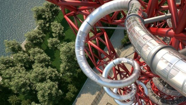 The belgian artist Carsten Höller has designed this new addition to the Olympic Park's sculpture-cum-attraction. Opening this Summer, it promises to be the world's longest and tallest slide.