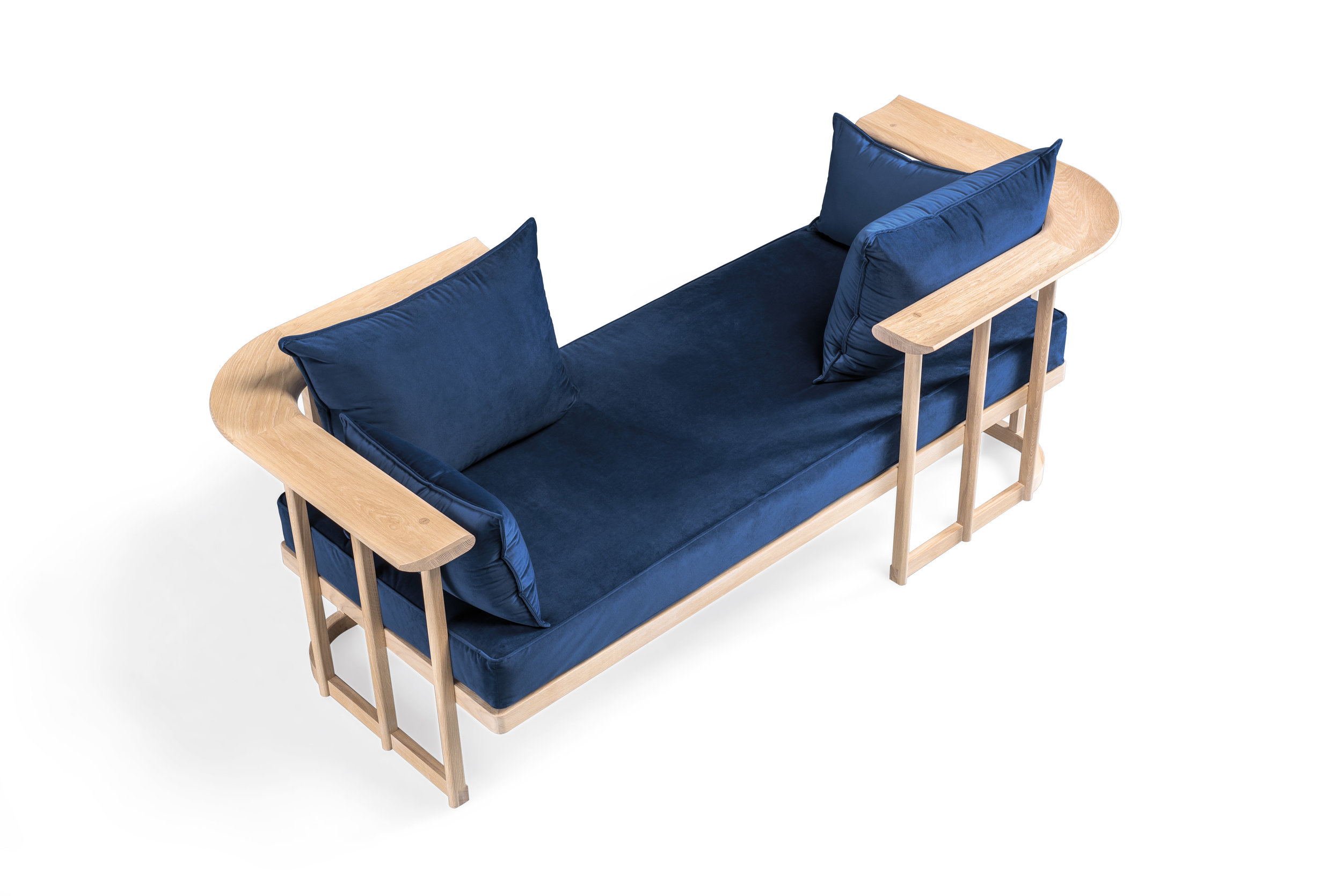 1. LOVER SEAT BY WEWOOD   You'll get people talking with a seat like this.   LOVER   seat allows to interchange the parts and can be used as a chaise longue, a love seat, a sofa or a day bed.