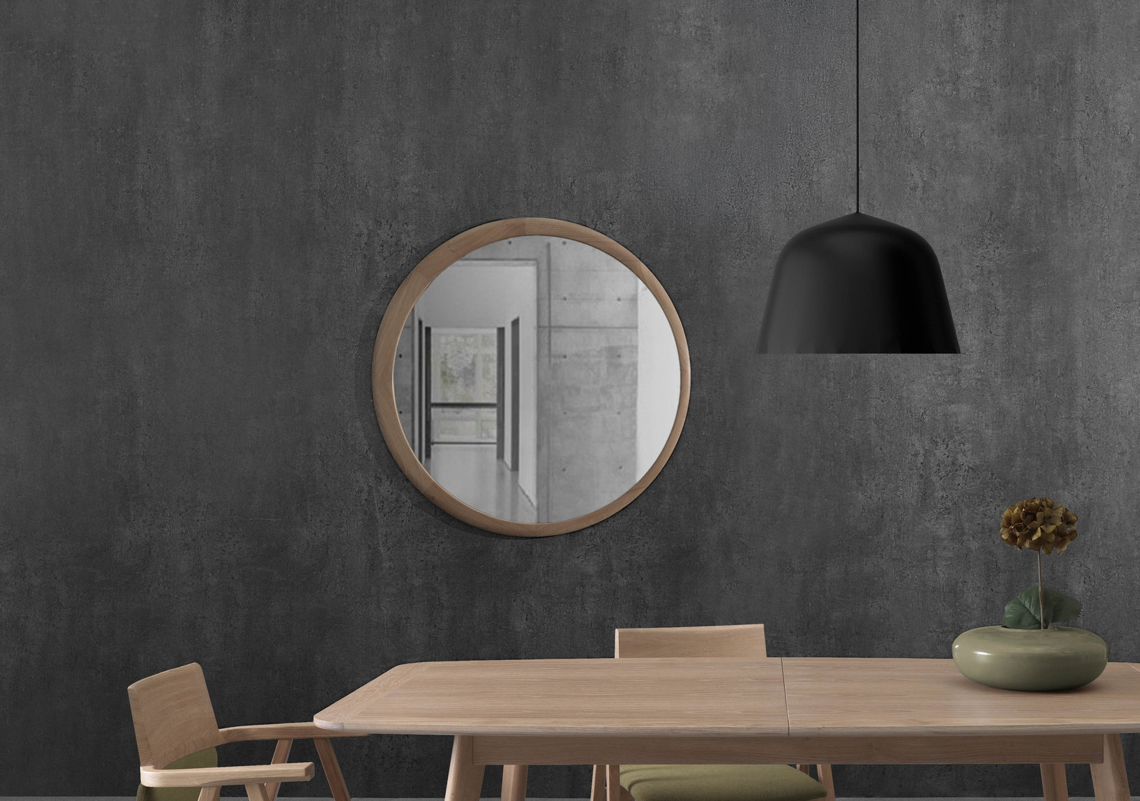 LUNA mirror  from WEWOOD