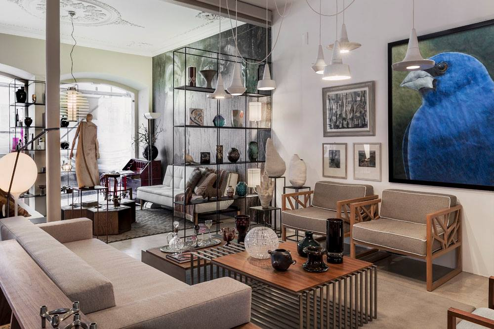PÁTRIA INTERIORES  - LISBON  Focusing exclusively on furniture and interior design, at Pátria you'll find a selection of high-end quality pieces of furniture from Portuguese brands and authors.