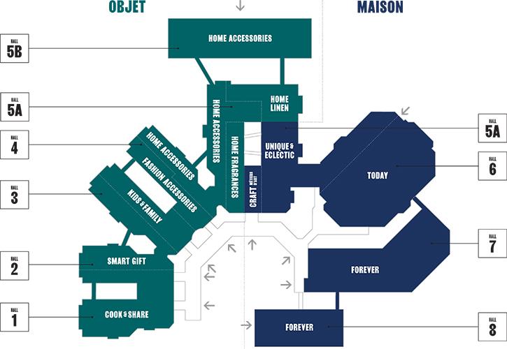 Maison & Objet Map