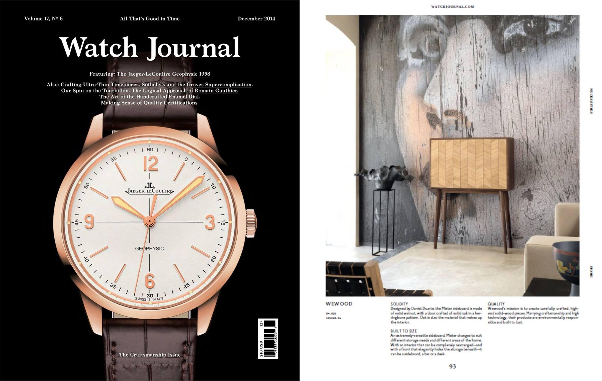 Watch Journal