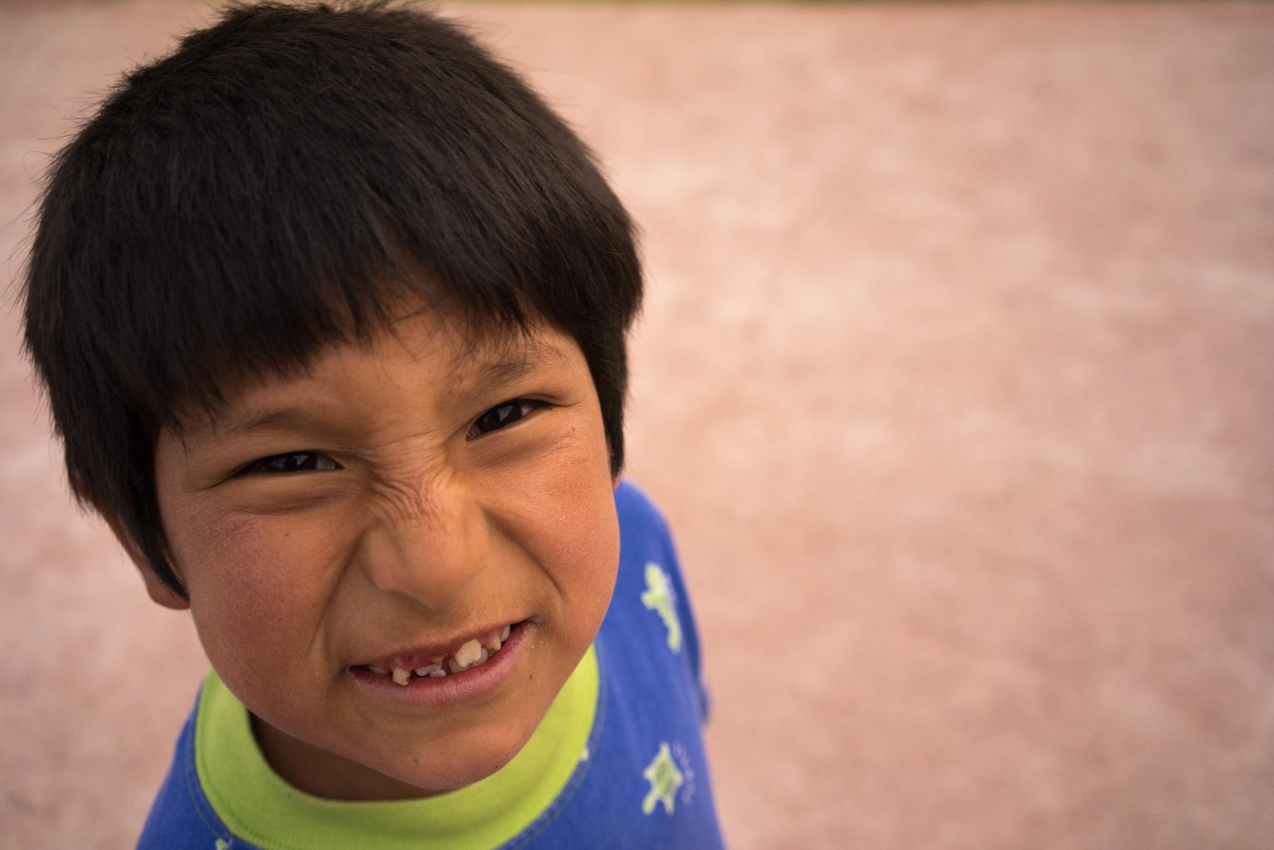 Salome Ferro Juvenile Home. Cusco, Peru. November 2014