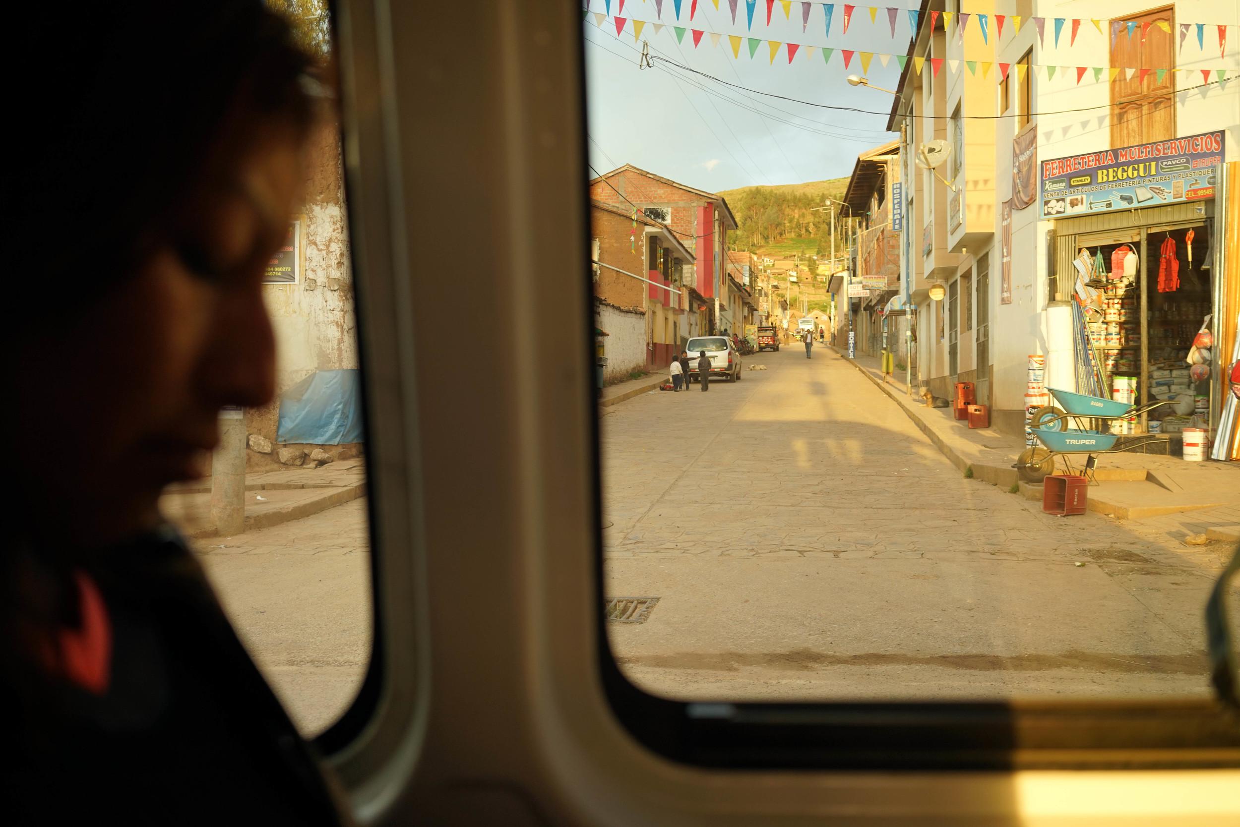 Shared Transport.Chincheros, Cusco, Peru.March 2015