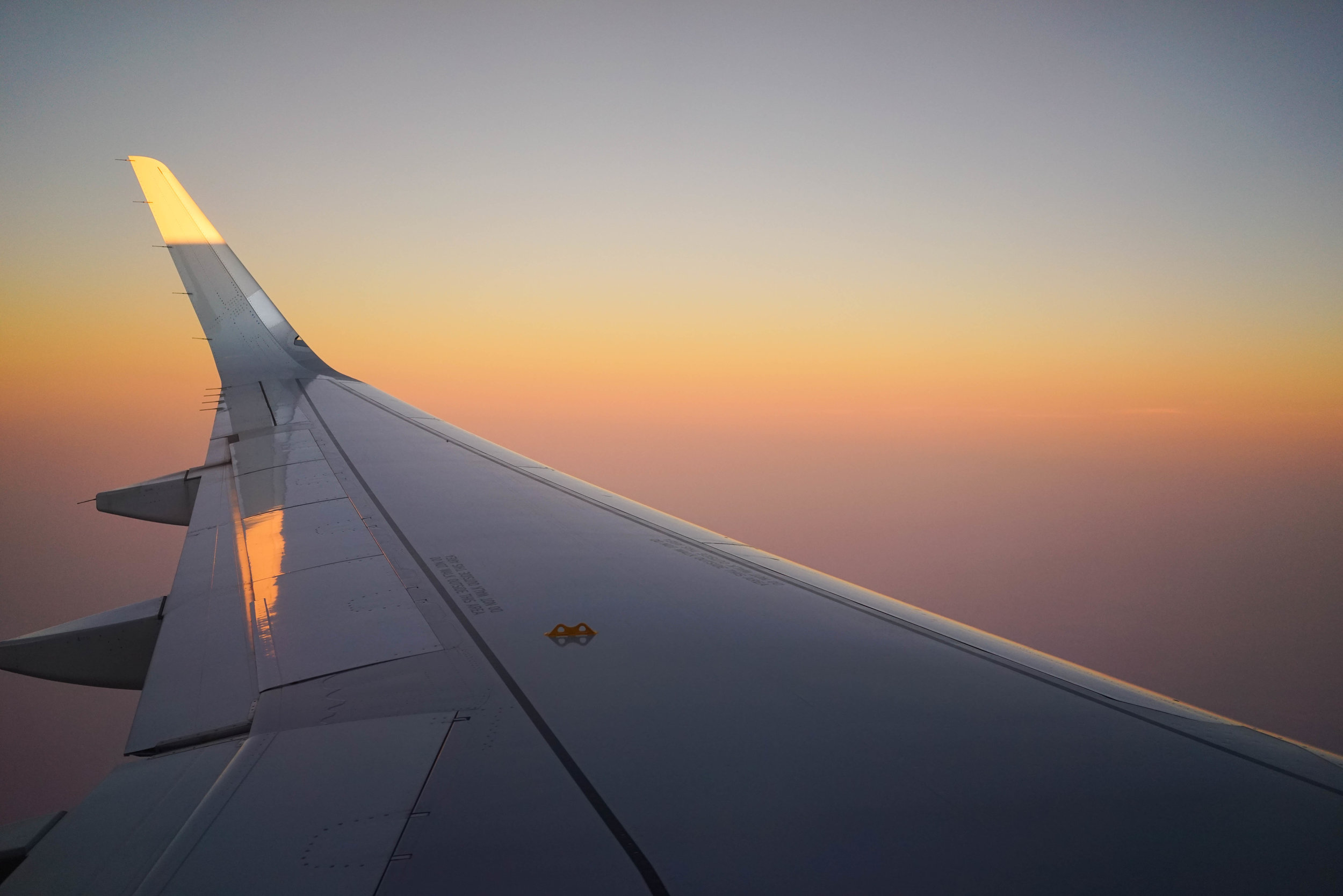 Watercolor Plane. San Miguel, Mexico >> Dallas, Texas. September 2016