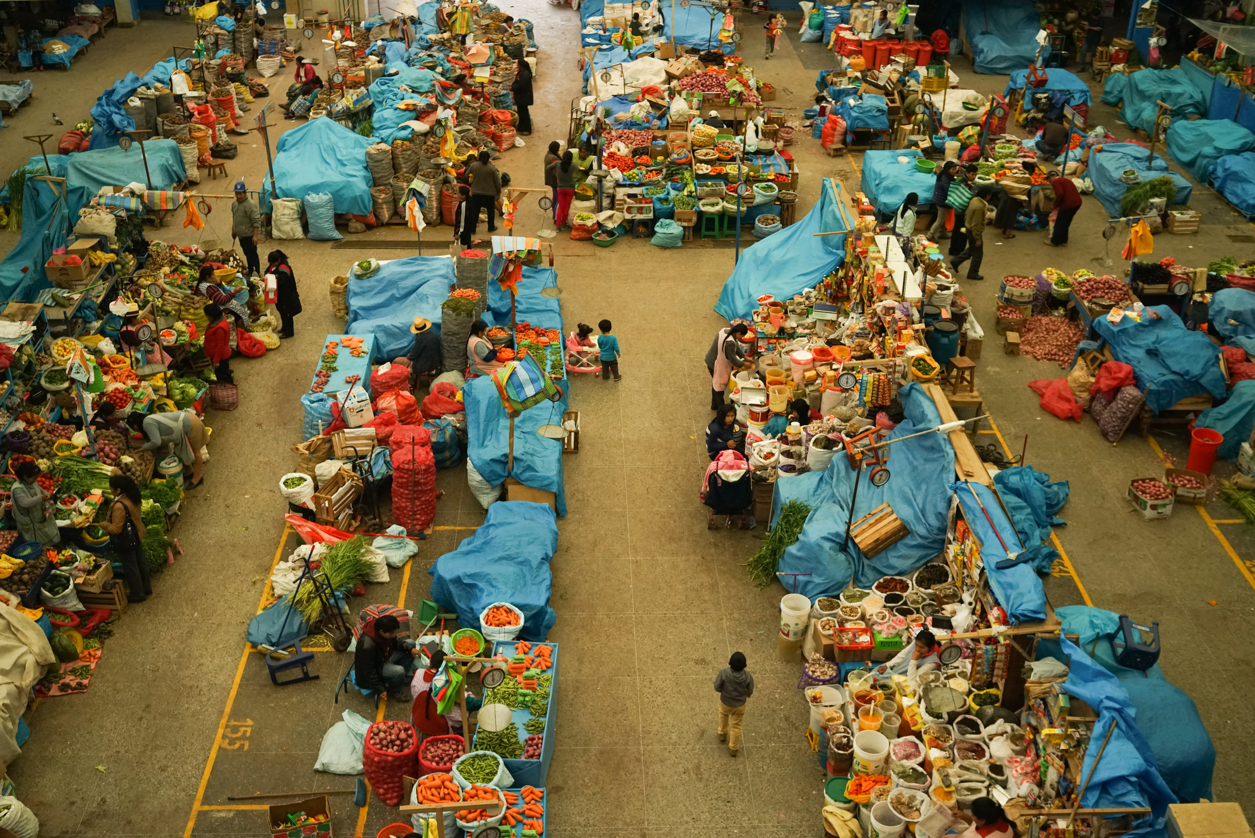 Above the Market. Urubamba, Cusco, Peru. January 2016