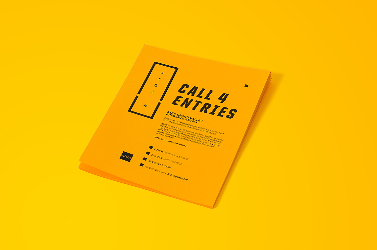 Call for Entries Flyer