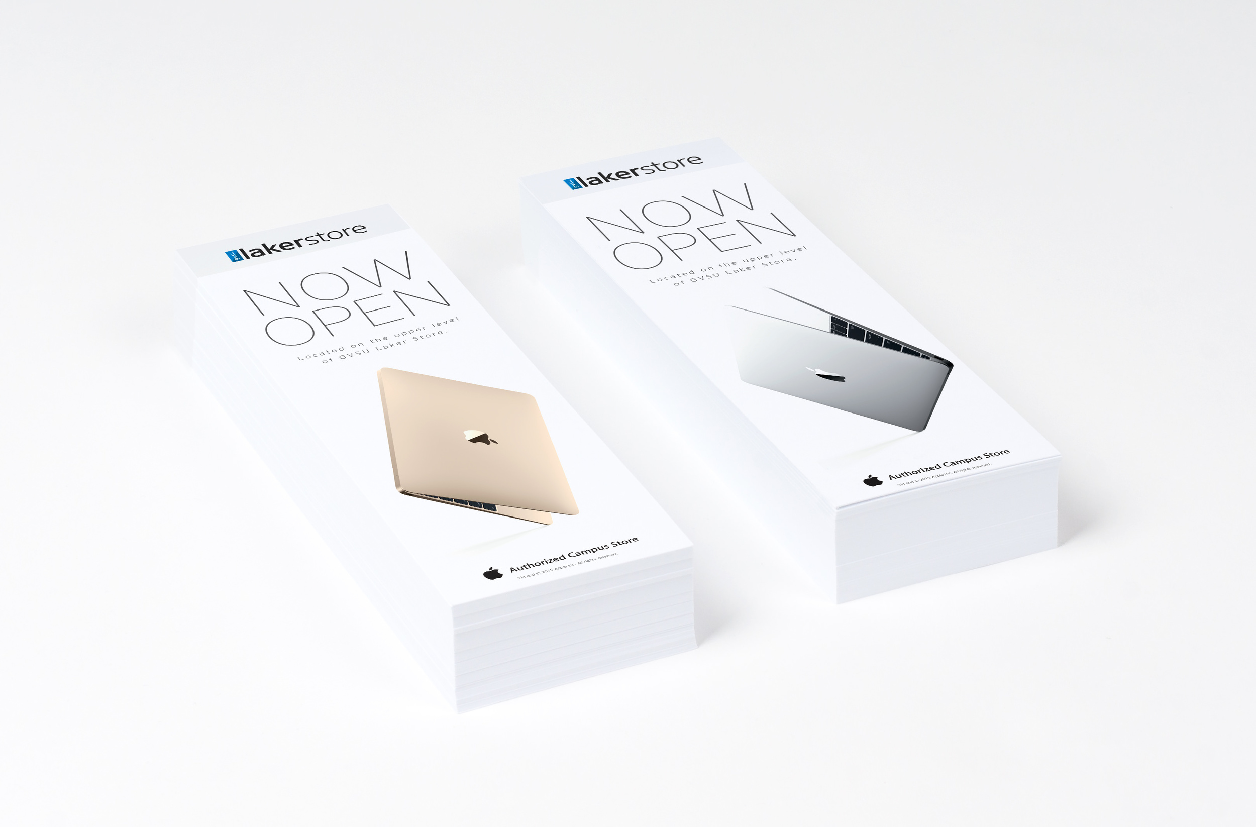 Apple Store Now Open Flyers