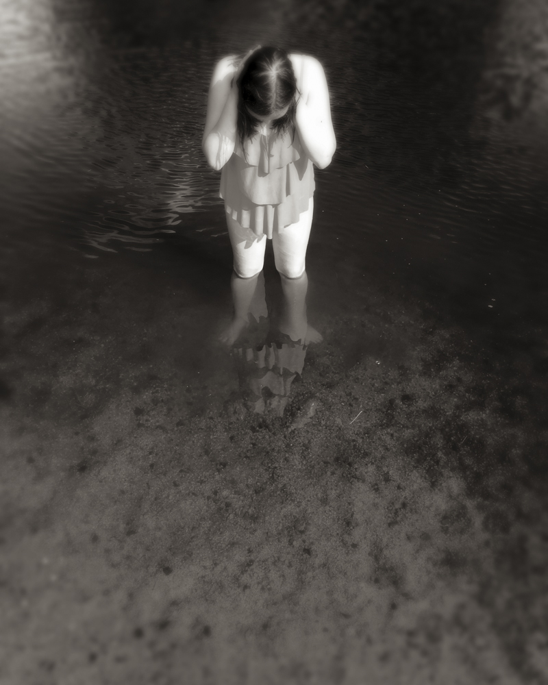 Maeve at the Pond