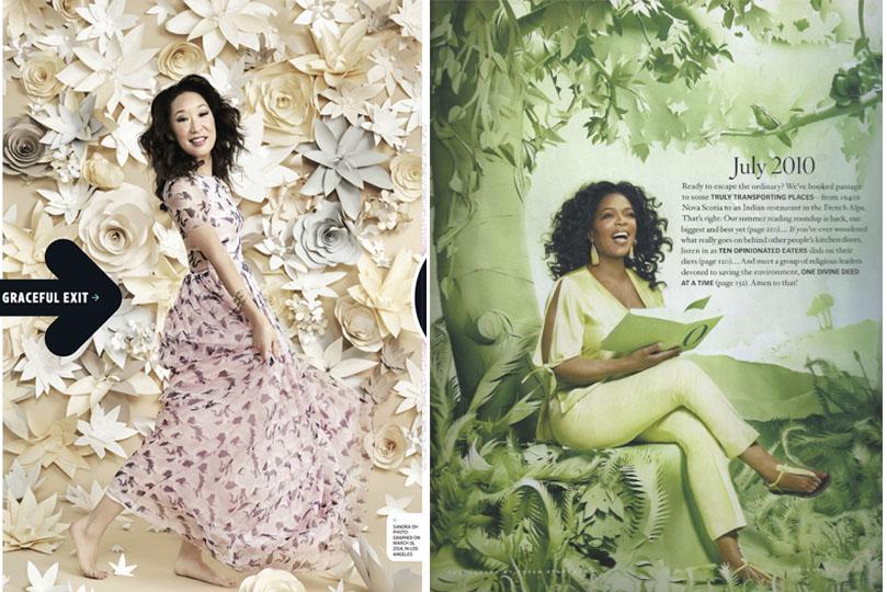 Entertainment Weekly: Sandrah Oh -Oprah's book club.