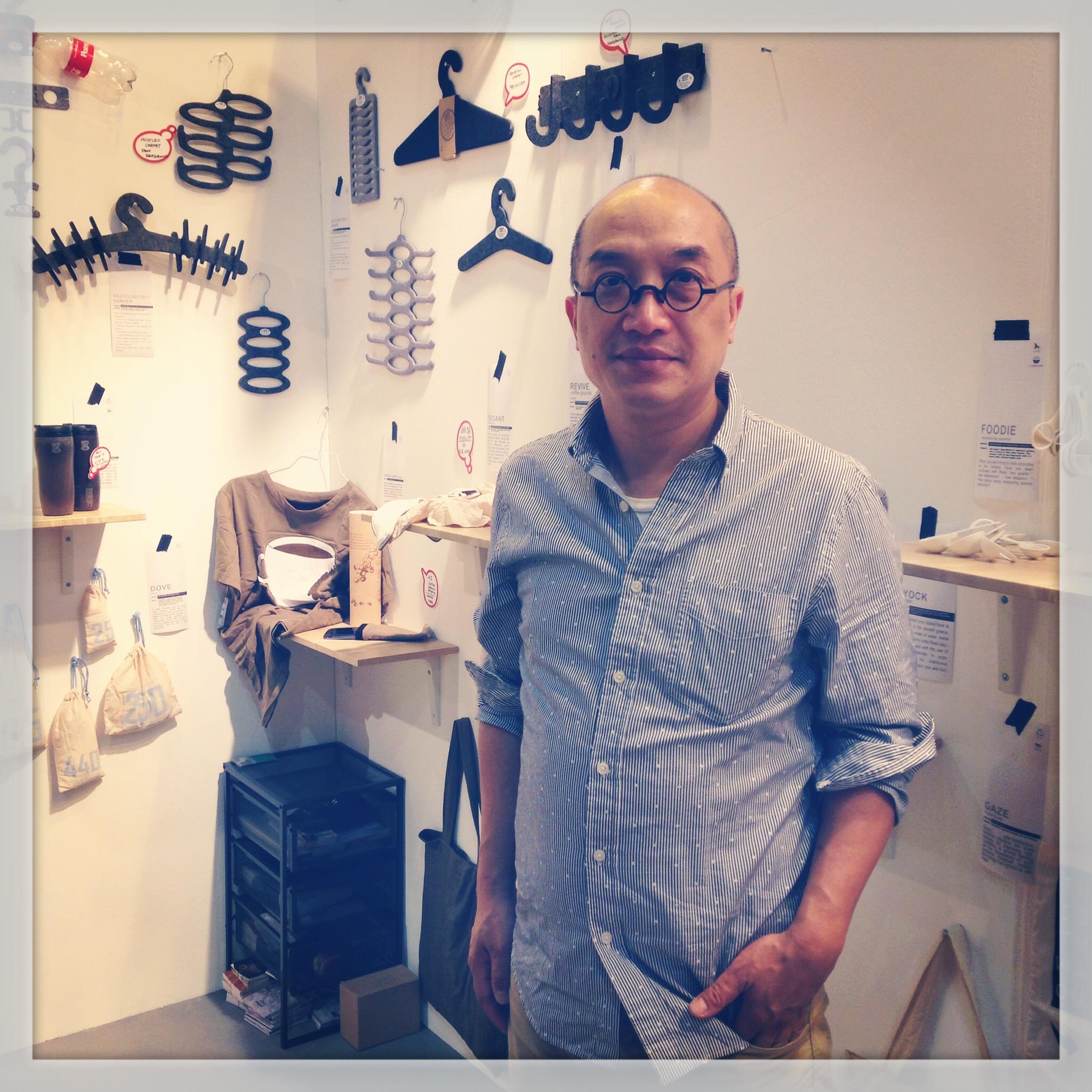 Image: Ooobject founder Gewah Lam Cheong-leung